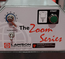Lawson Pre-Treat Zoom XL Pretreatment Sprayer - Control Panel